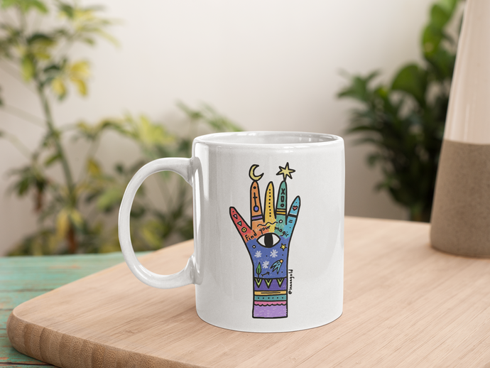 Find your magic Rainbow Mug