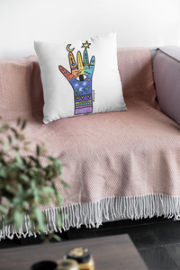 Find your magic Rainbow Pillow