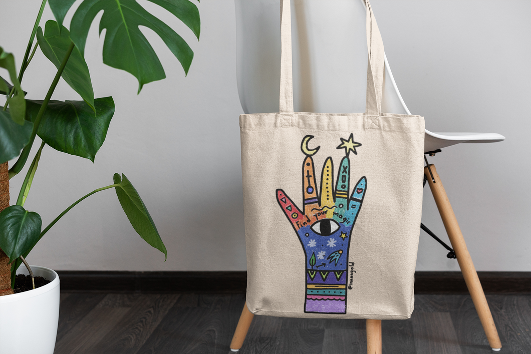Find your magic Rainbow Tote bag