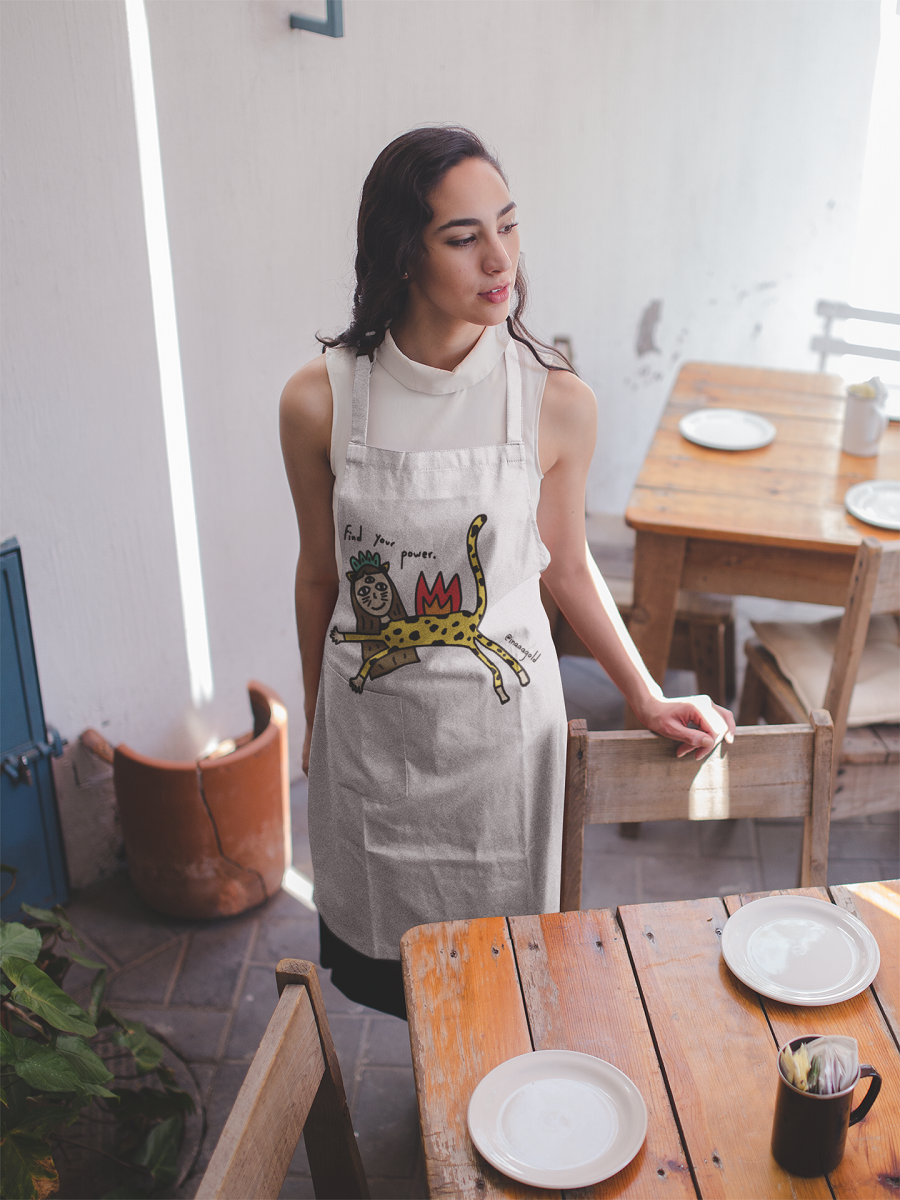 Find your power Apron
