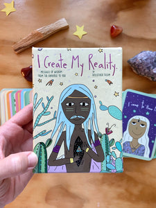 Oráculo I create my reality INGLÉS