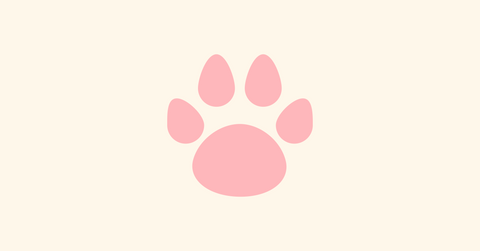 Paw logo of The Pet Friendly Candle Co