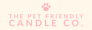 The Pet Friendly Candle Co who produce soy candles, diffusers, soy wax melts and room sprays that are dog friendly, cat friendly and vegan