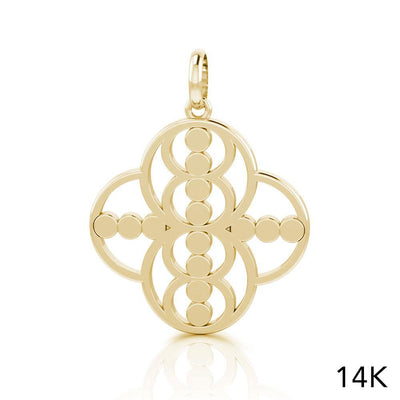 Energy Solid Gold Pendant GPD3983 peterstone.
