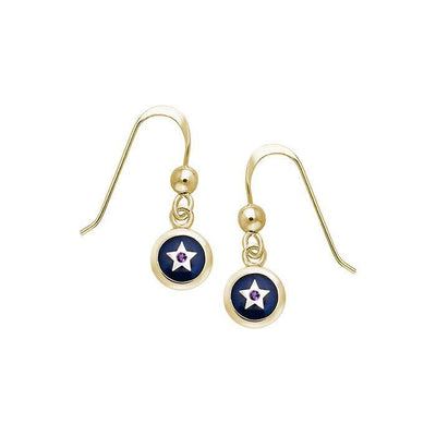 Star Spiritual Eye Earrings MER897