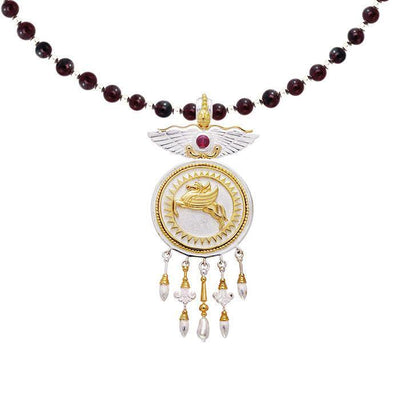 Amy Zerner Pegasus Necklace MNC121