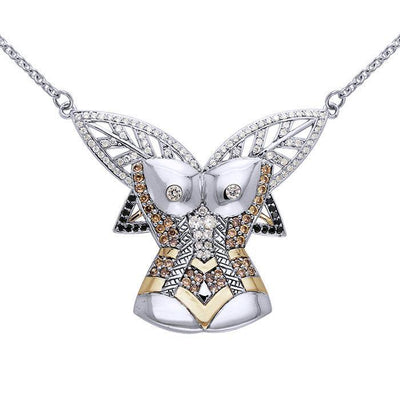 Inspired by Dali Body Shape Necklace MNC215