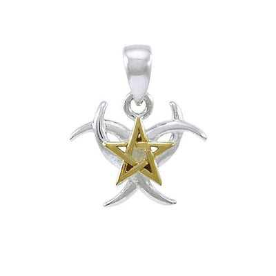 Triple Moon The Star Pendant MPD4254