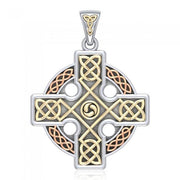 Celtic Knotwork Cross Pendant OTP477