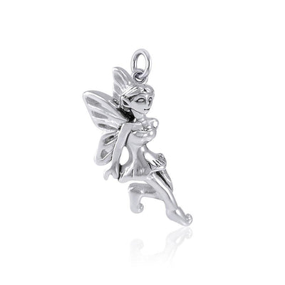 Enchanted Fairy Silver Charm TCM637