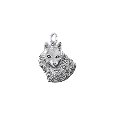 Wonderful Wolf Sterling Silver Charm TCM685 Charm