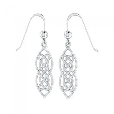 Celtic Hearts Entwined Earrings TE121