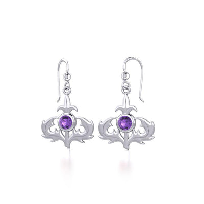 Scottish Thistle Earrings TE2027 Earrings