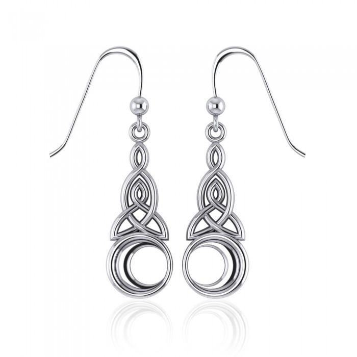 Celtic Triquetra Earrings TE2565