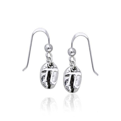 Coffee Bean Earrings TE613
