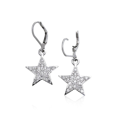 Amy Zerner Star Earrings TER1115