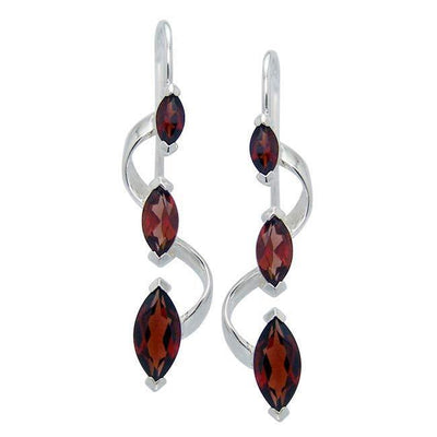 Elegant Birthstone Earrings TER1185 Birthstone