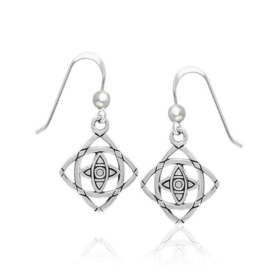 Be Focused Silver Earrings TER1395
