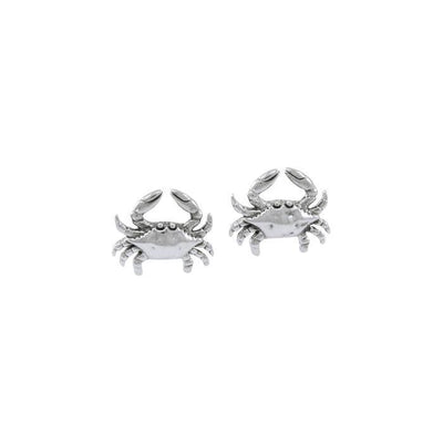 Crab Silver Post Earrings TER1527