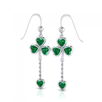 Celtic Shamrock Earrings TER226