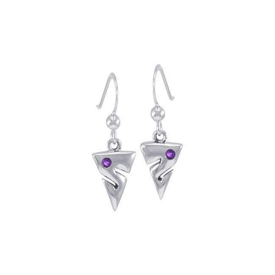 Cave Diving Silver Earrings TER454