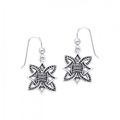 Norse Borre Knot Earrings TER479