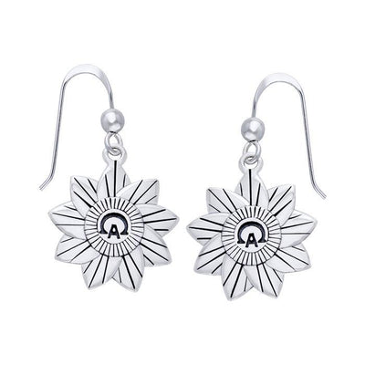 Alpha And Omega Earrings TER513