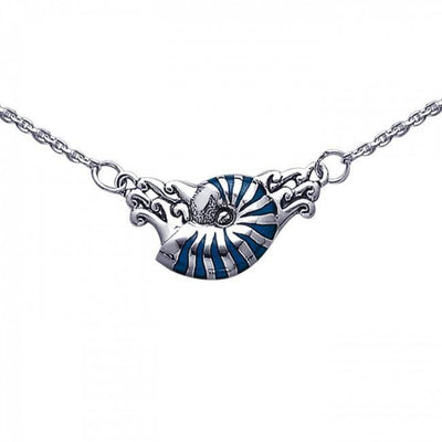 Nautilus Silver Necklace TN246