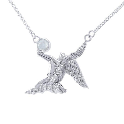 Angel of Passion Silver Necklace TN290