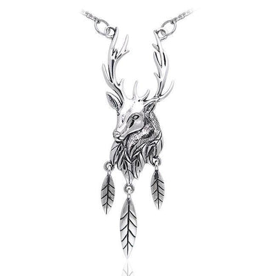 Ted Andrews Deer Stag Necklace TNC071 Necklace