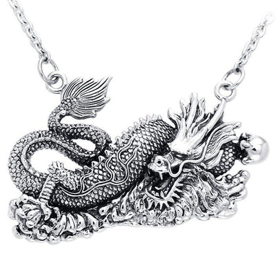 Chinese Dragon Necklace TNC089
