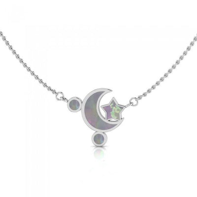 Moon Star Necklace TNC411P