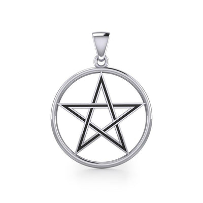 The Beautiful Reminder of a Pentacle Sterling Silver Pendant TP189 Pendant