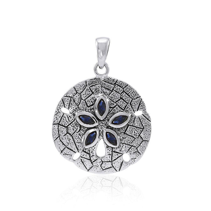 Sand Dollar Silver Pendant TP2604