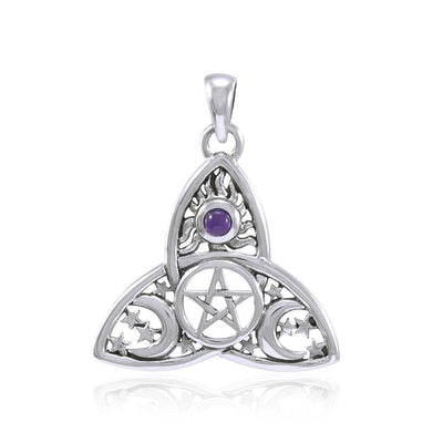 I dream beyond…beyond the Sun, the Moon and the Stars in a Pentagram TP3268 Pendant