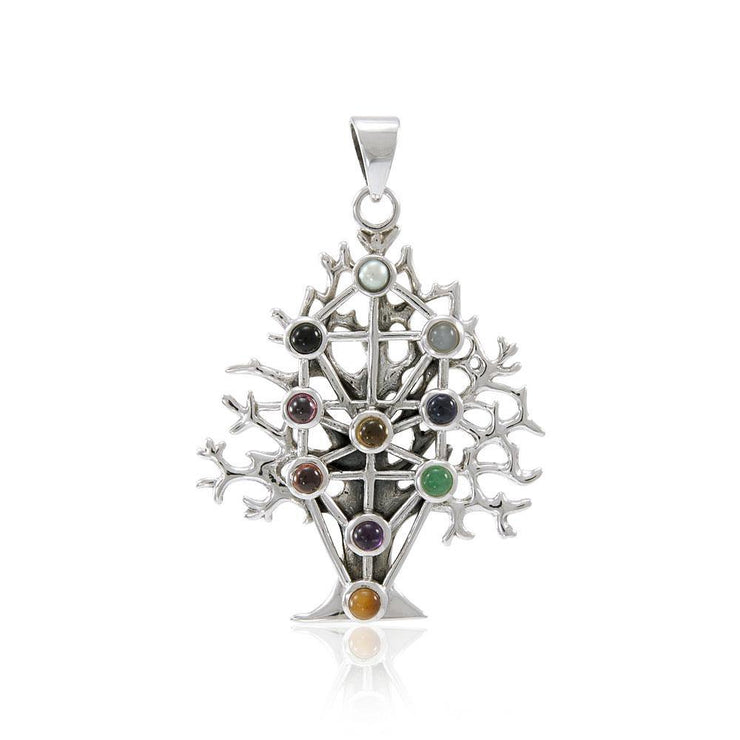 Kabbalah Tree Of Life Pendant TP3302