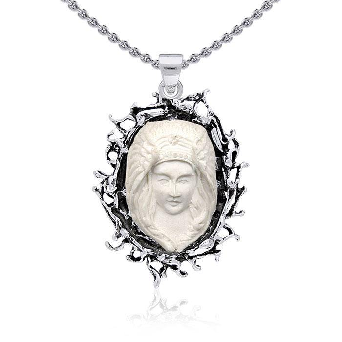 TP3304 Winged Goddess Cameo