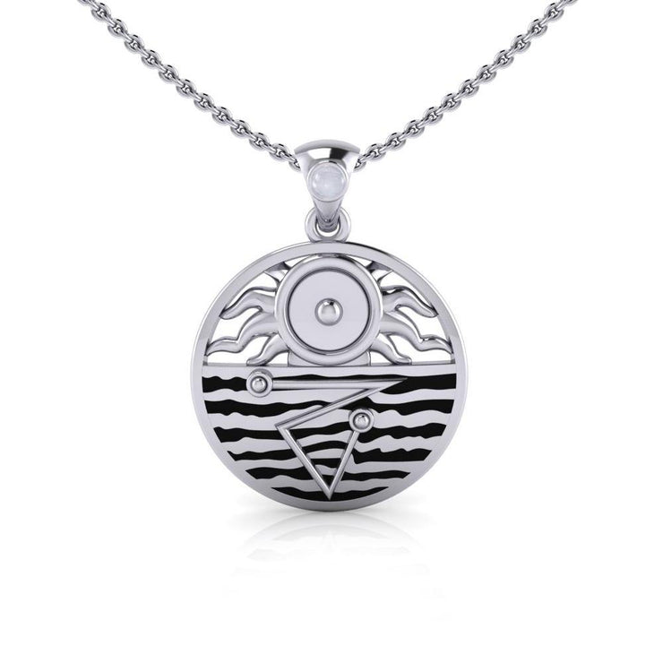 Four Elements Harmony Silver Pendant TP3564