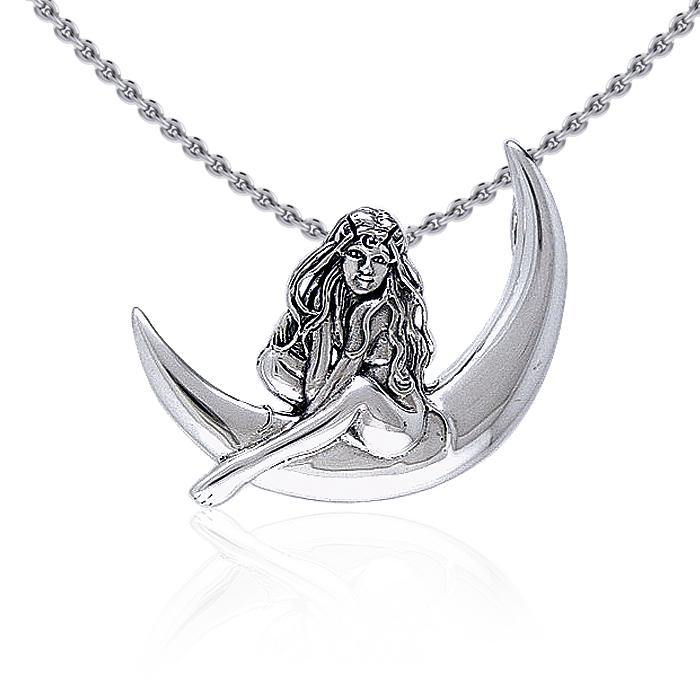 Child of the Moon Fairy Silver Pendant TPD030