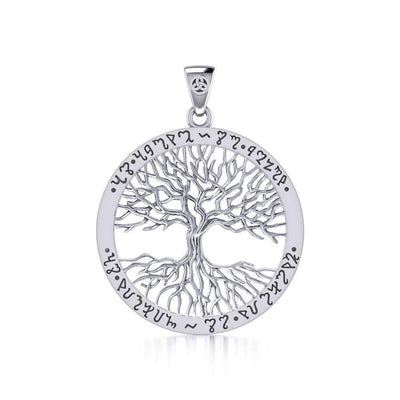 Continuously Inspiring - The Ethereal Symbol of the Theban Tree of Life Pendant TPD1043