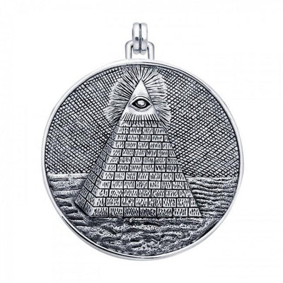 Eye of Providence Pyramid Pendant TPD1113