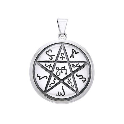 The Star of Earth by Oberon Zell Sterling Silver Pendant TPD1126