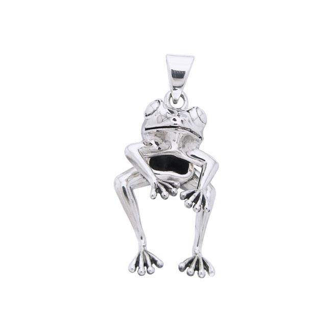 Frog Sterling Silver Pendant TPD1301 Pendant