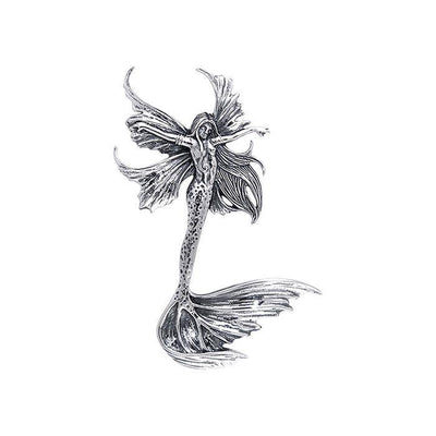 Amy Brown Sea Sprite Fairy ~ Sterling Silver Jewelry Pendant TPD136 Pendant