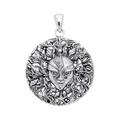 Mari the Sea Goddess Silver Pendant by Oberon Zell TPD1583