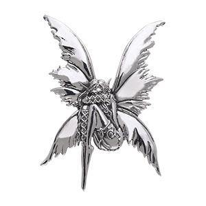 Bashful Fairy Silver Pendant TPD161