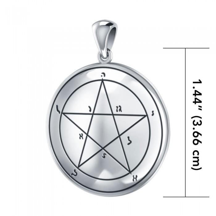 First The Star of Mercury Solomon Seal Pendant TPD2839