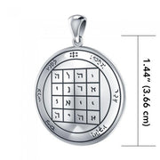 First The Star of Saturn Solomon Seal Pendant TPD2865