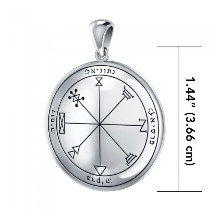 First The Star of Jupiter Solomon Seal Pendant TPD2866