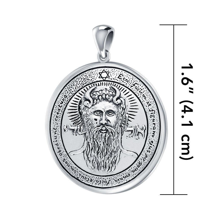 First Pentacle of the Sun Solomon Seal Pendant TPD2868